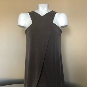 BCBGMAXAZRIA Cross-Front Dress